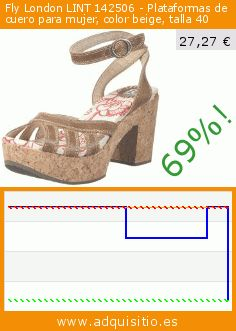 Fly London LINT 142506 - Plataformas de cuero para mujer, color beige, talla 40 (Zapatos). Baja 69%! Precio actual 27,27 €, el precio anterior fue de 89,30 €. https://www.adquisitio.es/fly-london/lint-142506-plataformas-8
