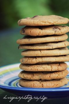 Choc Chip Subway Style Cookies