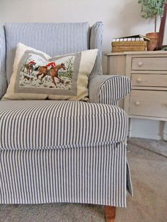 The Slipcover Maker | Custom slipcovers tailored to fit your furniture.