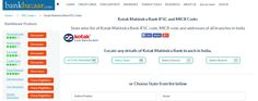 Get #ifsccode of all branches of Kotak Mahindra Bank at one place. http://www.bankbazaar.com/ifsc-code/kotak-mahindra-bank.html