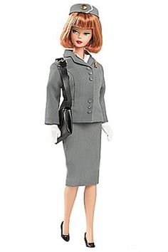 vintage stewardess barbie