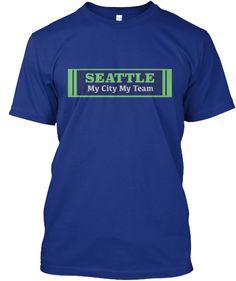 Seattle Proud Seahawks Fan Tee Shirt | Teespring