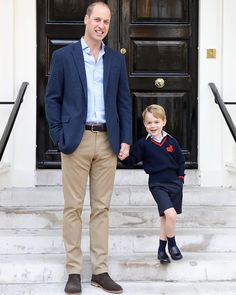"""4,855 Likes, 32 Comments - Catherine Duchess Of Cambridge (@katemidleton) on Instagram: """"I hope sweet little George enjoyed his first day at school. Here is a photo taken at Kensington…"""""""