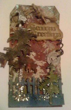Scrapbooker's Paradise Tim Inspired Tags - Day 13, tag 1