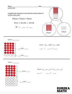 181 Best Grade 3 Eureka Math images in 2018 | Curriculum