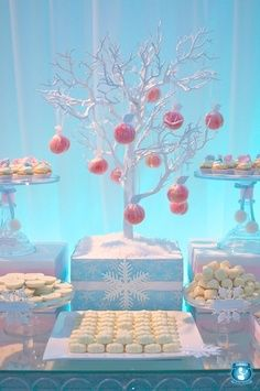 winter wonderland baby shower | Winter Wonderland. Birthday Party. Baby Shower. I want to do a tree ...