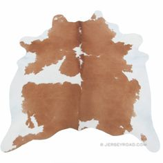 Jersey Road - Brown & White Cowhide Rug www.JerseyRoad.com $329 100% top quality Brazilian cowhide rug. FREE SHIPPING USA and Canada wide.  Tags: #cowhide #cowrug #rug #leather #beautifulroom #dreamroom #bedroom #jerseyroadco #brownandwhite #scandinavian #houzz #interior #stylist