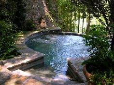 Hot tub heaven. by Brad D.