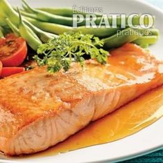Fish Recipes, Healthy Recipes, Polenta, Fish And Seafood, Plus Populaire, Filets, Sauce, Turkey, Nutrition