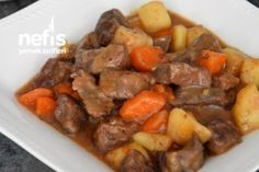 Turkish Kitchen, Iftar, Pot Roast, Food And Drink, Beef, Dinner, Ethnic Recipes, Food And Drinks, Carne Asada