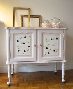 Milly buffet vintage rose poudré