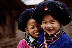 Lolo girls in North Laos photo by Boaz