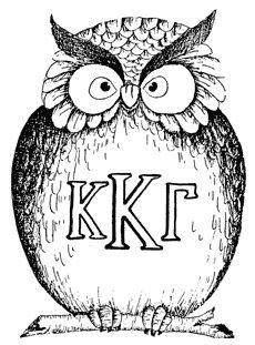 Kappa kappa gamma owl
