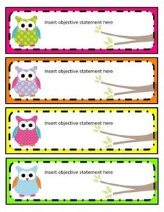 These editable bright owl name tags can be used for just about anything, including typing and posting objectives on your board, creating a classroom Owl Classroom Decor, Classroom Organisation, Classroom Rules, Classroom Schedule, Classroom Design, Classroom Displays, Preschool Classroom, Classroom Themes, Classroom Teacher