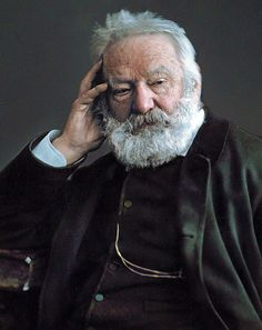 Victor Hugo (ca. Citations Victor Hugo, Famous Novels, Writers And Poets, People Of Interest, Book Writer, Interesting Faces, Historical Photos, Famous People, Portrait Photography