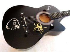 STEVEN TYLER (AEROSMITH) Signed Acoustic Guitar