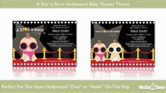 A Star is born Baby Shower Theme