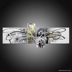 Oeuvre Originale :Pluton Artiste : John Beckley Dimension : 160 X 60 cm (2 toiles de 60X40cm / 2 toiles de 20X50cm) Technique : Acrylique sur toile Toile montée sur châssis haut de gamme, les bords sont peints permettant un accrochage immédiat de l'œuvre. Finition : Deux couches de vernis acrylique pour protéger et donner …