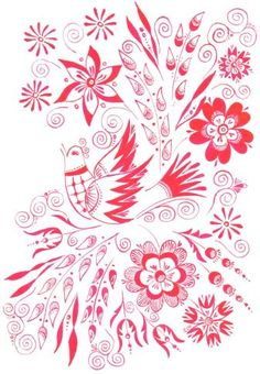 slovensky folklor ornament - Hľadať Googlom Pattern Art, Art Patterns, Alexander Mcqueen Scarf, Textiles, Culture, Inspiration, Biblical Inspiration, Cloths, Fabrics