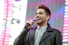 Description of . Singer Adam Lambert introduces Sia onstage during 102.7 KIIS FM\'s 2015 Wango Tango at StubHub Center on May 9, 2015 in Los Angeles, California.  (Photo by Kevin Winter/Getty Images For 102.7 KIIS FM\'s Wango Tango)