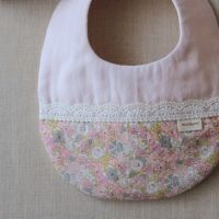 "baby bib,liberty ""Delilah cavendish""- memori ~for kids & baby~"