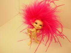 Little Fiery Heart Pixie of Love and by BerkanaNvrldCreation, $20.00