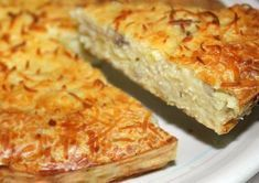 WW Ultra Light Tuna Pasta Quiche - Main Course and Recipe - WW ultra light tuna dough quiche, recipe for a tasty light quiche, dough free and without crème fr - Quiches, Healthy Crockpot Recipes, Cooking Recipes, Weigh Watchers, Tuna Pasta, Quiche Lorraine, Quiche Recipes, Batch Cooking, Light Recipes