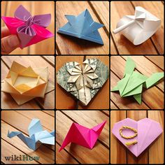 Add some inspiration to your kid's days with some paper origami. This is a great how-to for simple or complicated designs
