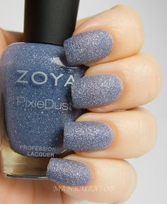 Zoya Nyx.. I think this is such a pretty blue!  It's like country summer denim-ish.  And they're making PURPLE for summer!