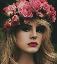 Lana Del Rey  #LDR perfect makeup so beautiful