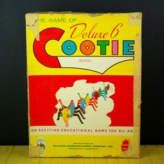 Deluxe Six Cootie Game, $28, now featured on Fab.