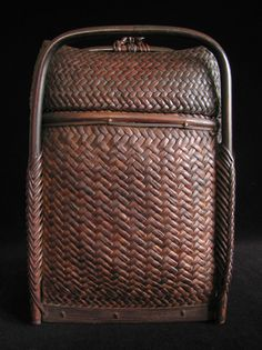 """A very nice example of an everyday backpack from Bontok Island in the Philippines. It's in beautiful condition, has a shiny patina from use, and measures 15"""" high by about 10.5"""" wide."""