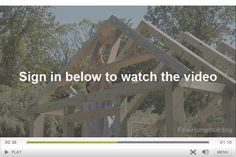 How to Frame a Garden-Shed Roof and Install Skip Sheathing for Cedar Shingles