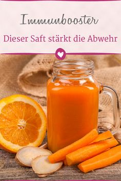 Fit with Orange: This juice gives colds no chance - Fit mit Orange: Dieser Saft gibt Erkältungen keine Chance This juice brings us safely through the cold. Smoothie Cleanse, Weight Loss Smoothies, Healthy Sport, Healthy Life, Detox Drinks, Healthy Drinks, Superfood, Smoothie Recipes For Kids, Health