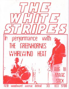 The White Stripes - gig poster