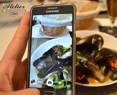 Comparte tus momentos #ruzafagente con nosotros. @gastronomicoatelier  Mejillones al curry ligero.  #restaurante #ateliergastronomico #menudeldia #valenciagram #igersvalencia #ruzafagente #ruzafagram #cocinademercado #menu #chefCarlosAlonso #calleciscar #comidasana #runningcv #mussels #curry #valencia #felizmiercoles #lovevalencia