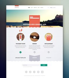 website layouts 17 25 Amazing Website Layouts Design From Dribbble