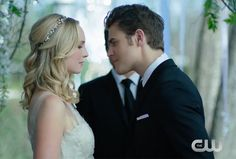 'Vampire Diaries' Trailer Offers First Look at Stefan and Caroline's Wedding