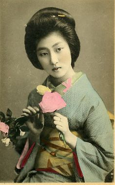 Vintage Geisha from the Collage Images Group at Flickr http://www.flickr.com/groups/collageimages/pool/with/473904678/