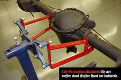 Auto Dolly Engine Stand Axle Adapter