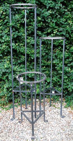 8″ Forged Plant Stand Online Garden Store