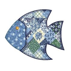 PEIXE APLICADO Applique Tutorial, Applique Templates, Applique Patterns, Applique Quilts, Applique Designs, Embroidery Applique, Quilt Patterns, Machine Embroidery, Quilt Baby