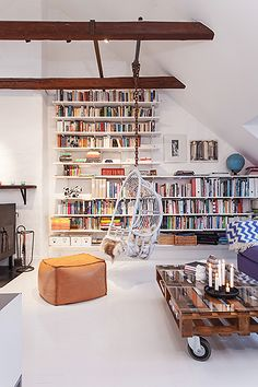 An eclectic mix in a loft