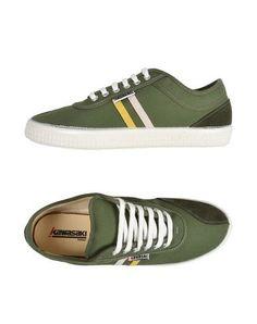 KAWASAKI Men's Low-tops & sneakers Military green 12 US