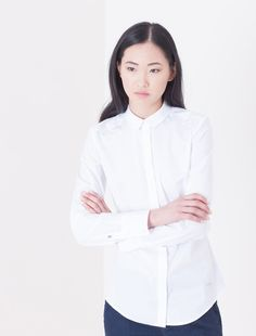 Cotton shirt featuring logo print