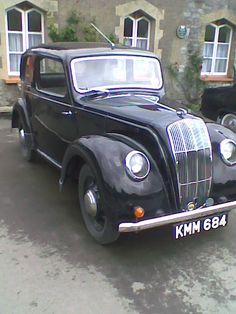 Morris 8,. Classic car!