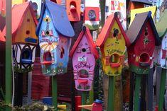 Vogelhäuser ... auf dem Weihnachtsmarkt in Jena