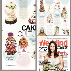 We're in a magazine!... #weddingideasmagazine #may2017 #donuts  #donutcake  #donuttower #donutweddingcake #weddingcakedesign #weddingcakes #weddingday #planitcake #weddingdesign  #somersetcakes  #somerset #somersetcakedesigner #dorsetcakemaker  #dorset #d