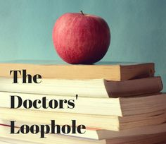 The Doctors' Loophole:  What is is & How it Might Affect Your Student Loan repayment options!  Read more here if you're a medical resident or physician!
