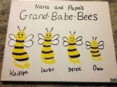 handprint crafts for grandma - Google Search